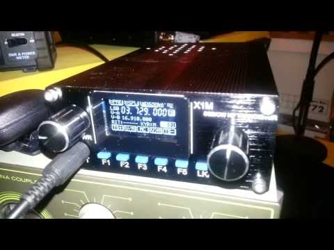 X1M Platinum QRP Radio 80m Local Net