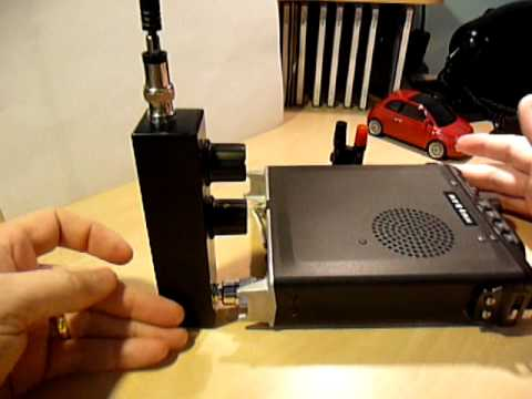 Wonder Wand Widebander QRP antenna for FT-817