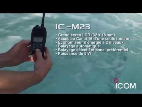 VHF Marine ICOM IC M23