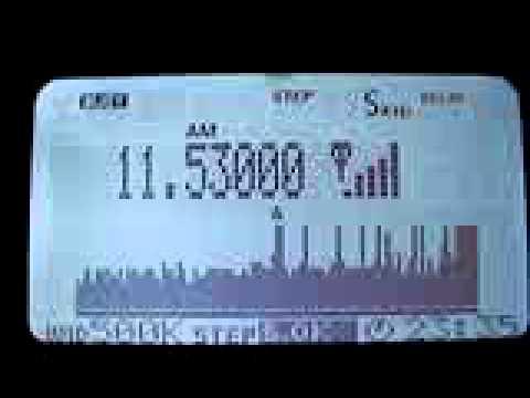 Rádio de números 18/02/2013 em 11.530Mhz