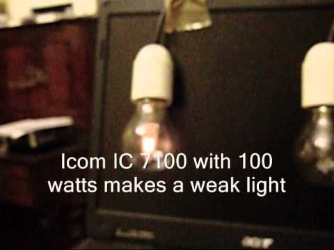 Icom IC 7100 Low Modulation in SSB Mode , Kenwood TS 2000 VS Icom IC 7100 in SSB Mode