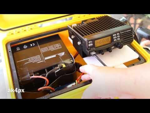 Ham radio go box / event box in Pelican 1450 - Pt 1