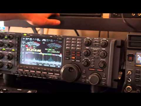 BG2AUE on 15m with ic-7800 and ftdx-5000