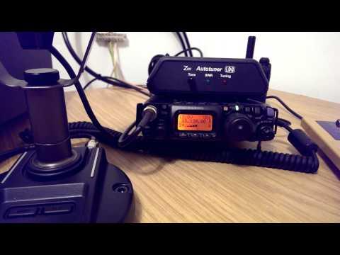 HF 17m comparison of Western HF-10 vs Alexloop using Yaesu FT-817 Radios