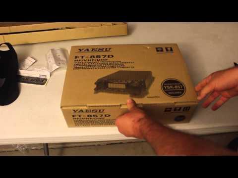 Yaesu FT-857D & ATAS-120A Unboxing