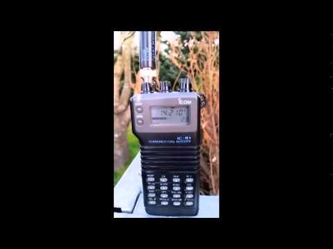 Icom IC R1 SSB demo 3