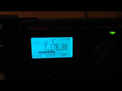 Yaesu FT-897 40 meters