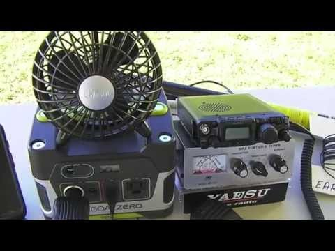 Goal Zero Yeti 150 Powering The Yaesu 817ND QRP Ham Radio
