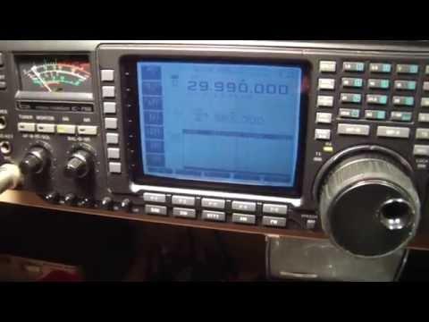 ICOM 756 HF radio, TX problems, Part 2