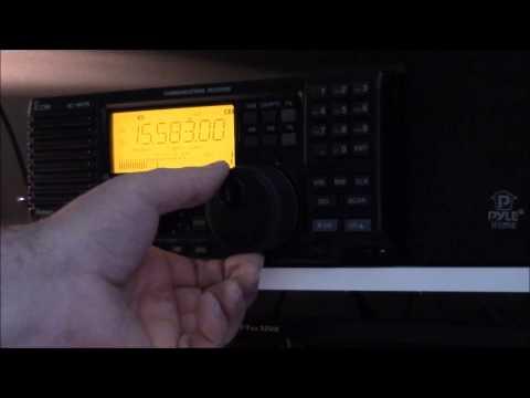 The Icom R-75 vs JRC NRD-545 shortwave receivers