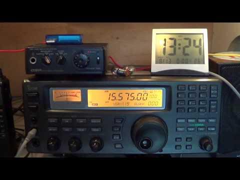 KBS World Radio on Icom IC R8500