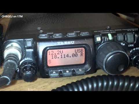 Listening to VA3DL on 17m 30.10.2014