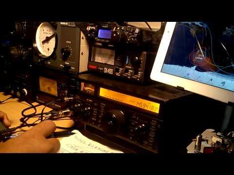 FUJI OSCAR FO-29 ORBITA # 90.036 CONTACTO CON CX1TH
