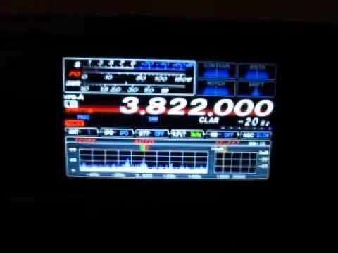 Yaesu FTDX 1200 75 Meters QSO
