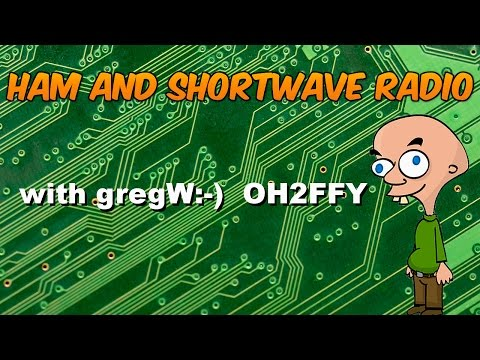 Trying out the Yaesu FRG-7 Shortwave Receiver.