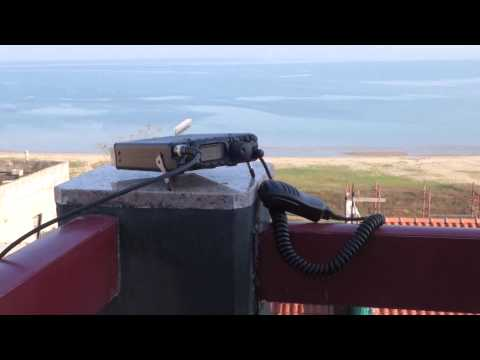 End Fed Antenna with Yaesu FT 817 ND during QRP operation