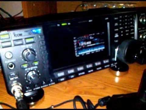 HAM STATION XE2VOO.   Icom IC 7600