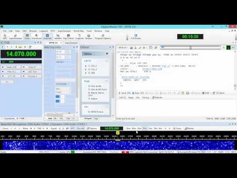 DXing using Ham Radio Deluxe (HRD) & DM-780 (ICOM IC-7100)