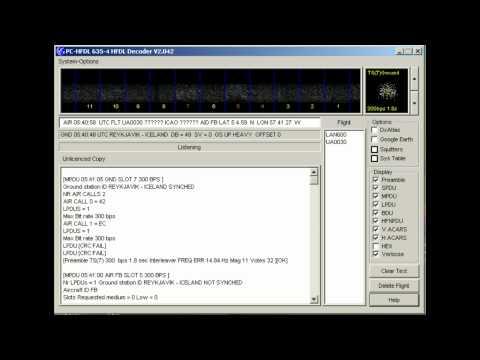 ACARS-HF node 03 (Reyjavik, Iceland) - 8977 kHz (USB)