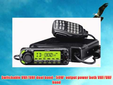 Icom ID-880H 144/440 MHz Dual-Band Amateur Radio D-Star Mobile Transceiver