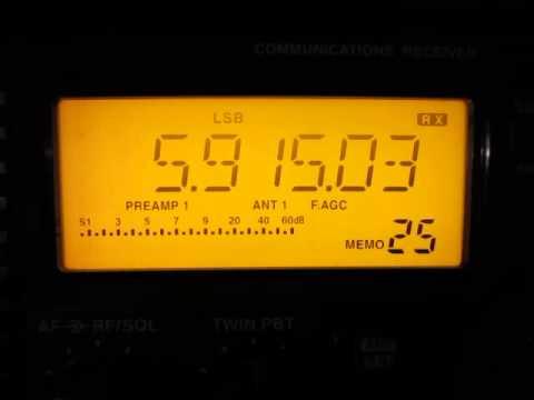 Myanma Radio 5915 kHz. 20.12.2014.