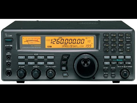 ICOM IC R8500 decoding RTTY and FAX