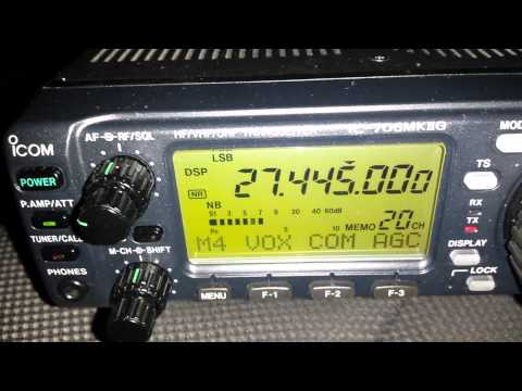 CB RADIO USA-GERMANY, Icom IC 706MK2G/ Astatic D104M6B/ Sirtel Santiago1200