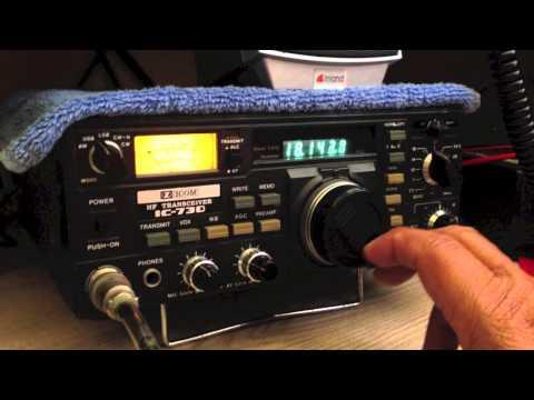 Icom IC-730 radio