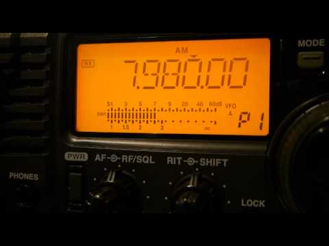 Extreme interference (QRM), Amateur radio.
