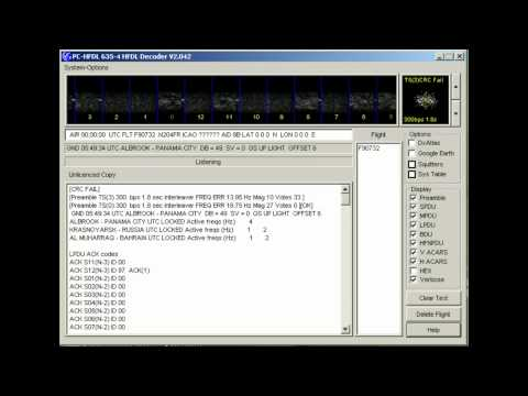 ACARS-HF node 11 (Albrook, Panama City, Panama) - 8894 kHz (USB)