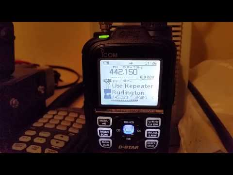 Icom ID -51A D-star test