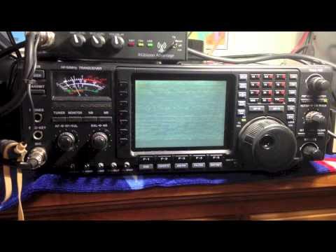 Icom 756 Pro II monitor failed