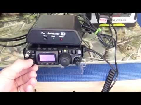 Ham Radio-10 Meter Band off Solar Set-up