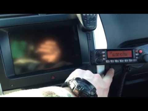 Ham radio in new Ford Explorer part 1