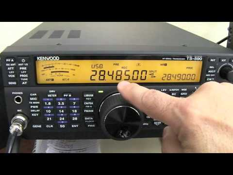 How To Use Split Mode With The Kenwood TS 590SG 3-11-2015