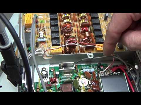 HAM Radio repair: Troubleshooting Yaesu FT-1000MP V Field with no TX power