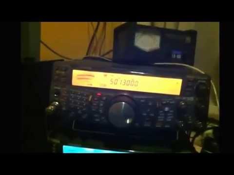 Feb 18, 2015 K5CBL CA3SOC 50 MHZ QSO KENWOOD TS-2000 HAMRADIO HAM RADIO