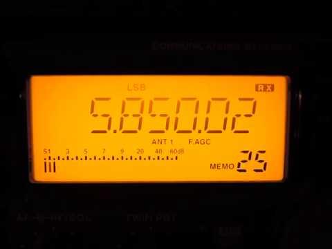 Radio Farda 5850 kHz. 16.1.2015.