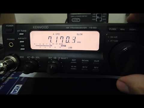 Kenwood TS-50 HF Tranceiver 100w 0-30MHz Ham Radio Pristine Condition.
