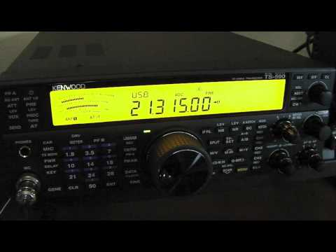 The New Kenwood TS 590SG HF 50MHz Transceiver With MC 60 Desktop Microphone 2-28-2015
