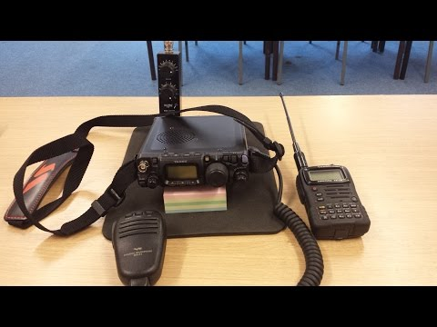 Backpack Yaesu Combo VX-7R & FT-817ND (Nagoya NA701 & Wonder Wand) 2m QSO
