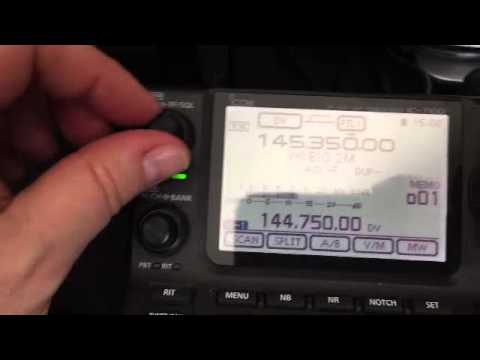 Icom ID-5100 Receive issue Example 2