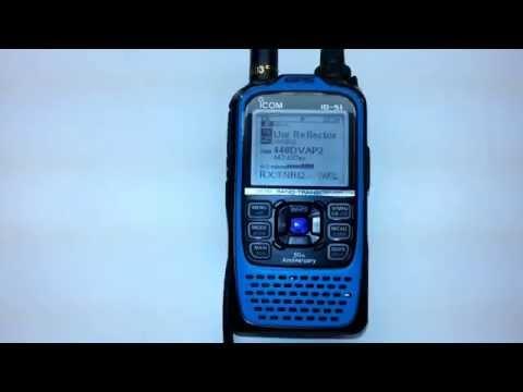 """ICOM ID-51A BLUE """"Turquoise"""""""