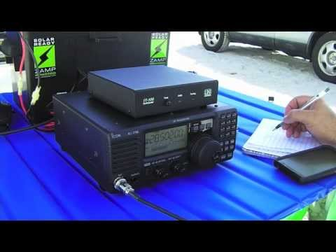 My New Solar Powered HF Ham Radio Portable System 3-5-2015