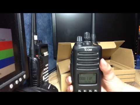 ICOM IC-F80T review: new fire radio