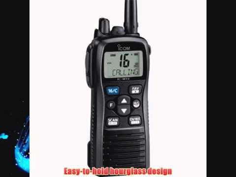 ICOM IC-M73 01 Icom IC-M73 01 Handheld VHF Marine Radio 6 Watts