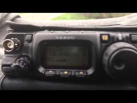 CQ CQ CQ Selby Ham Radio Works SV5/OK2PVF With Yaesu 817