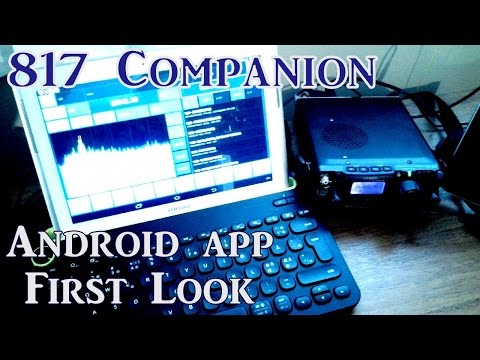 Yaesu FT817 |  Advanced CAT Control & Remote Display | Android