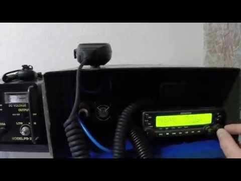 Kenwood V71A HAM Radio Go Box