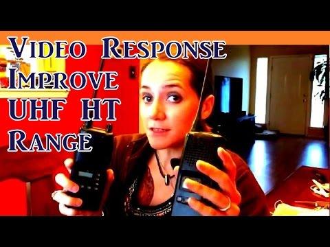 Improving UHF HT Range | VR Armed Rogue 365 Survival 111